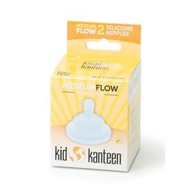 Klean Kanteen tétine - Enfant - Medium, 2er Pack transparent